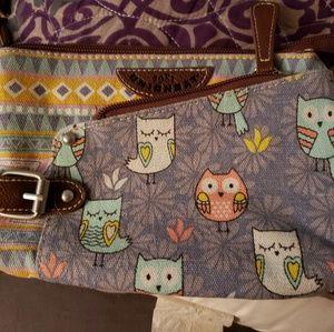 Unionbay owl bag
